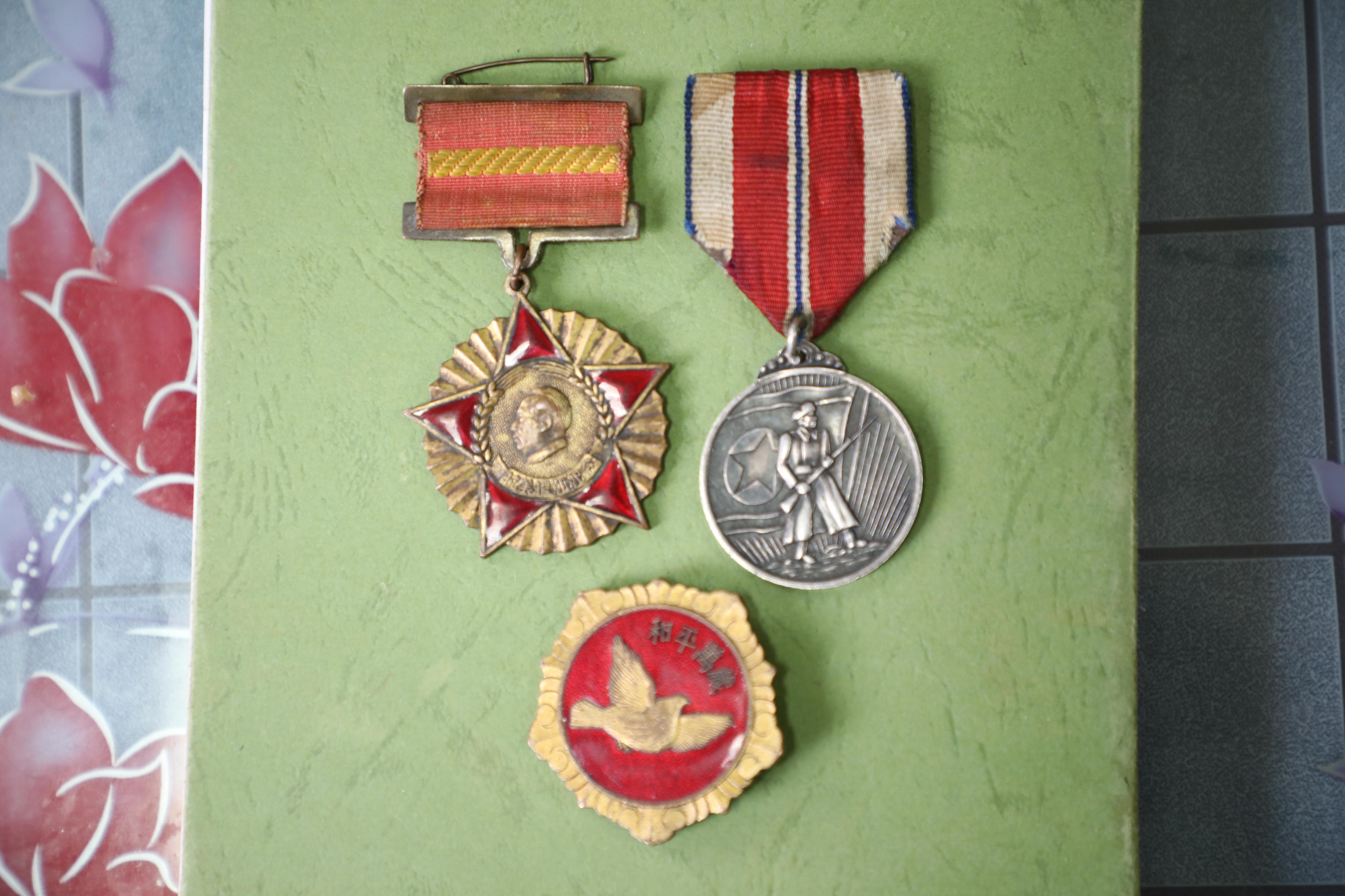 张桢获得的奖章、纪念章.JPG